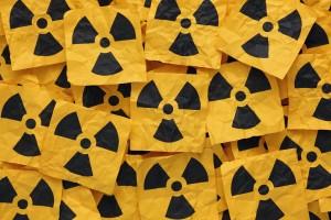 Crumpled Radioactive Signs